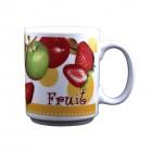 """Kaffee-/Teebecher """"Fruit"""" gelb 400 ml KU-200064"""