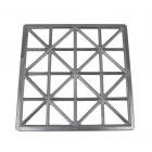 Teigform für Maultaschen 32 Zellen Aluminium KU-026