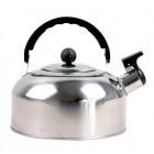 Wasserkocher mit Pfeife Edelstahl 2 L W-04