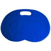 Badematte, blau
