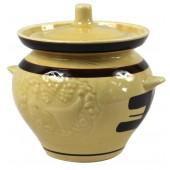 """Keramiktopf """"Gemalte Braune"""" 0,5 L TA-33225"""