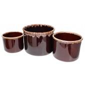 Backformen aus Keramik 3 Stück KR-25358