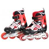 Inliner Skates ABEC 7 rot/schwarz Größe: XL FIT-14995