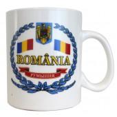 "Kaffee-/Teebecher ""Rumänien"" 500 ml KT-14505"