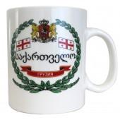 """Kaffee-/Teebecher """"Georgien"""" 500 ml KT-14455"""