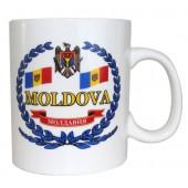 """Kaffee-/Teebecher """"Moldawien"""" 500 ml KT-14485"""