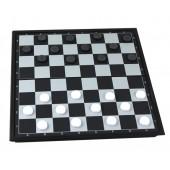 Dame Spiel mit Magnetfeld 24,7x24,7 cm 602785_Chess