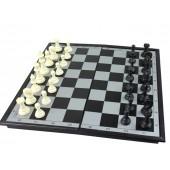 Brettspielset 3 in 1 mit Magnetfeld 29,8x29,8 cm 600860_3in1 Spielset