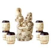 "Keramikset ""Kasakin"" 7 teilig KN-0044"