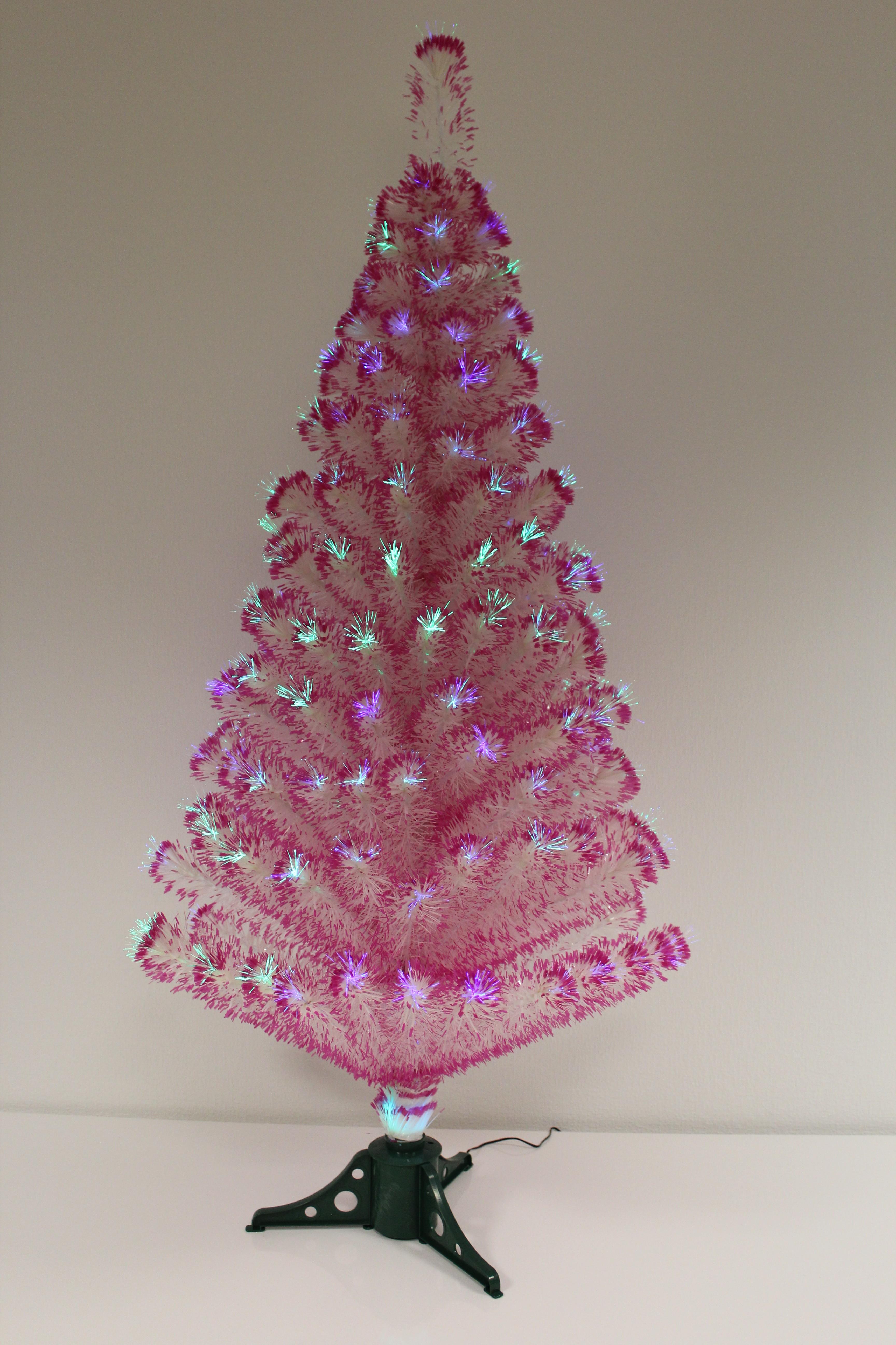 k nstlicher weihnachtsbaum mit glasfasern led beleuchtung 8 programme 180 cm inkl baumst nder. Black Bedroom Furniture Sets. Home Design Ideas