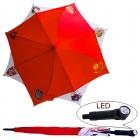 "Regenschirm ""UdSSR´s Wappen"" mit LED- Licht"