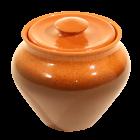 Schmortopf aus Ton 0,25 l, getönt