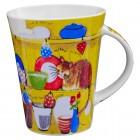"Kaffee-/Teebecher ""miaow miaow"" 400 ml"