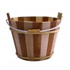 Holz-Eimer für Sauna groß