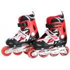 Inliner Skates ABEC 7 rot/schwarz Größe:40-42 XL