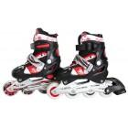 Kinder Inliner Skates ABEC-7 rot/schwarz Größe: M FIT-14795
