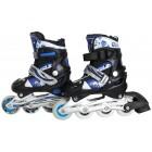 Kinder Inliner Skates ABEC-7 blau/schwarz Größe: 31-34 S, F1302