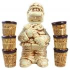 """Keramik-Set """"GAI"""" 7 Teile KR-424"""