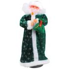 Weihnachtsmann mit leuchtende Kerze 44 cm WE-15585