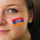 """Fan-Tatoo (Tätowierung-Aufkleber) """"Armenien"""""""