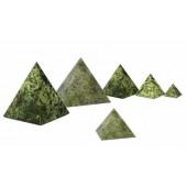 Pyramide aus Naturstein, 40x40x40 mm