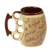 "Bierkrug  ""Kastet"", keramik, 0,4L"
