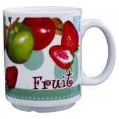 """Kaffee-/Teebecher """"Fruit"""" grün 350 ml"""
