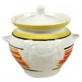 """Keramiktopf """"Regenbogen"""" 0,5 L TA-33205"""