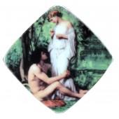 """Magnet """"Malerei"""", viereckig, 7 x 7 cm, MA-13075"""