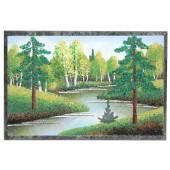 Malerei auf Stein / Tischdeko, 10x15x1 cm DS-14625