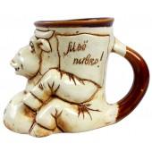 """Keramik-Tasse """"Kuh"""" SHSA-629"""