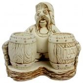 "Keramik-Set ""Zucker-Salz-Pfeffer"" 3 teilig"