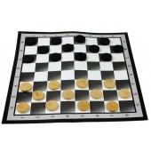 Dame Spiel mit Spielfeld 37x37 cm 602803_Chess