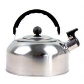 Wasserkocher mit Pfeife Edelstahl 2L