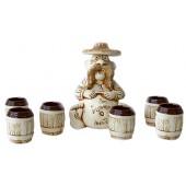 Keramikset 7 teilig KP-0054