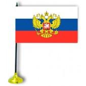 """Tischflagge """"Russland"""", mit Ständer"""