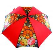 Regenschirm rot