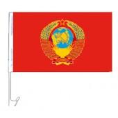 """Autoflagge""""UdSSR"""", 30 x 45 cm, FA-0009"""