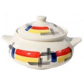 "Keramik Suppentopf ""Vernisage"" 1,5 L SV-0154"
