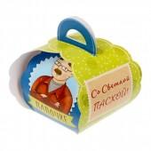 """Коробочка подарочная для яйца """"Любимому папочке. Со светлой пасхой!"""""""