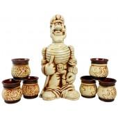 """Керамический набор """"Старший помощник Лом"""" 7 предметов NSH-426"""
