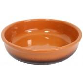 Салатница глиняная 1 л цвет тонированный