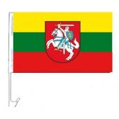 "Autoflagge ""Litauen"", 30 x 45 cm"
