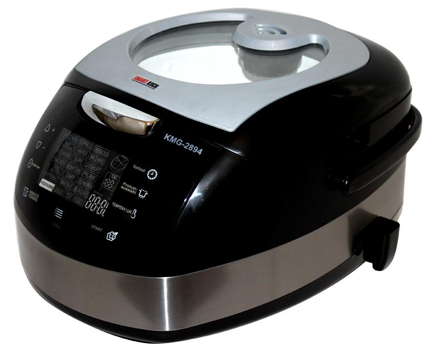 5 L 23 Funktionen Multikocher Multiwarka Alleskocher Smart Koch mit Glasdeckel